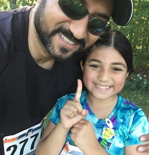 Kamal and Daughter
